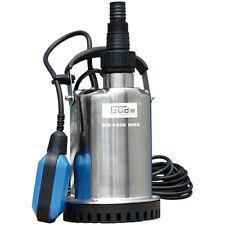 Güde GFS 4000 Inox Flachsaugerpumpe Schmutzwasserpumpe Tauchpumpe Edelstahl