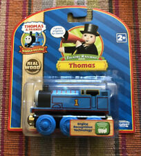 Learning Curve Wooden Thomas Train RFID Talking Railway Thomas! Gold Magnets!New