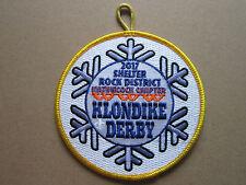 Shelter Rock Klondike Derby 2017 BSA Cloth Patch Badge Boy Scouts Scouting (L2K)