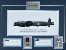 More details for operation chastise - dambusters raid original signatures