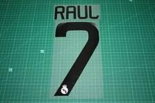 Real Madrid 08/09 #7 Raul Homekit Nameset Printing