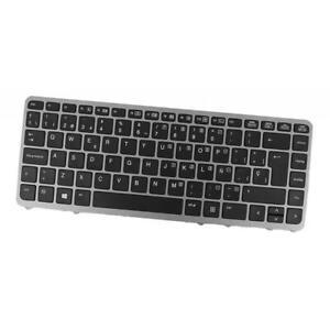 Spanish Laptop Keyboard Keypad w/ Frame for HP Elitebook 850 G2 Series