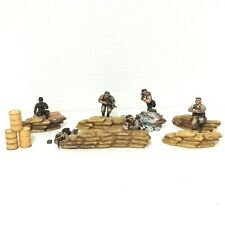 MIXED LOT - Unimax Forces Of Valor 1:32 Figures and Diorama Accessories