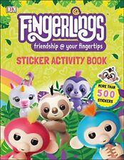 Fingerlings Sticker Activity Book By DK