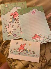Rare Vintage Sanrio Original Japan My Melody Stationary Letter Set