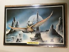 Vintage The Winged Rescue Poster by Frank Cirocco, 1978, Lotr, The Hobbit, Vg