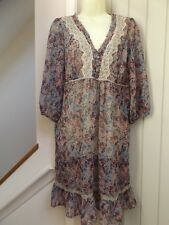 GORGEOUS MARKS & SPENCER BOHO DRESS...SIZE 18...LAGENLOOK...NEXT DAY POSTAGE