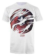Tt-shirt Homme Marvel Rfmts547 White Manche Courte Casual M