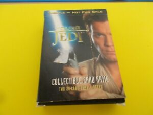 Star Wars Young Jedi Collectible Card Game Sample Starter Set