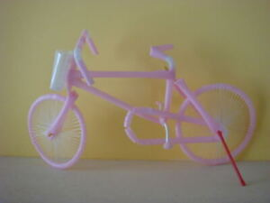 Recycled bicycles from old straws