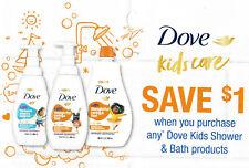 save on DOVE KIDS 🕊 + Bonus [Canada] Shower Bath