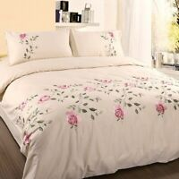 Luxury Chic Duvet Cover Cotton Soft Bedding Set Extra Large 4/6 Pieces