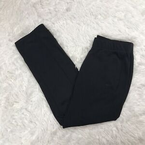 Nike Women's Therma Fit All Time Fleece Sweatpants Size M Medium Black 620335