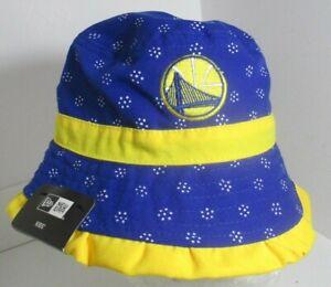 Golden State Warriors Bucket Hat Kids Aprox 2-4 New Era NBA blu Cap