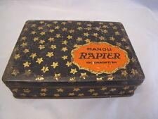Alte Blechdose Manoli Rapier 100 Papierzigaretten