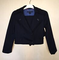 MARC BY MARC JACOBS Double Breasted Cropped  BLAZER JACKET COAT WOMEN WOOL