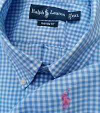 XXL Preppy de 54 Pulgadas Polo Ralph Lauren Azul claro con caballo y jinete Bebé Rosa