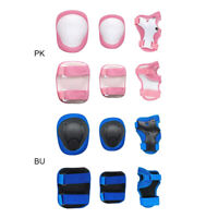 Child Kids Protective Gear Set,Knee and Elbow Pads With Wrist Guards Toddler US