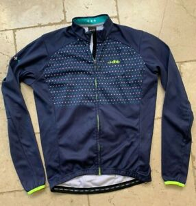 DHB Cycle jersey full zip Blue Long Sleeve Medium M