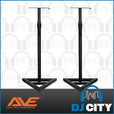AVE Studio monitor stand pair Speakers stands- BNIB - DJ City Australia