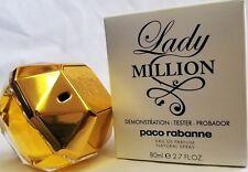 Paco Rabanne Lady Million 2.7oz  Women's Eau de Parfum Tester New  In Box