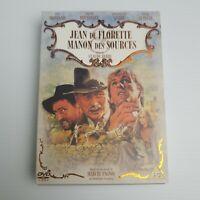 Jean De Florette Manon Des Sources DVD Region 4 Western Box Set