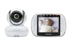 Motorola MBP36S Remote Wireless Video Baby Monitor with 3.5-Inch Color LCD Scree