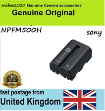 Original Sony NP-FM500H battery for Alpha A99 A77 II A65 Battery Battery