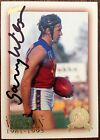 2003 SELECT AFL HALL OF FAME CARD PERSONALLY SIGNED BY GARRY WILSON FITZROY