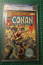 CONAN THE BARBARIAN #59 CGC GRADED 9.4 1976 THE SONG OF BELIT OFF-WHITE PAGES