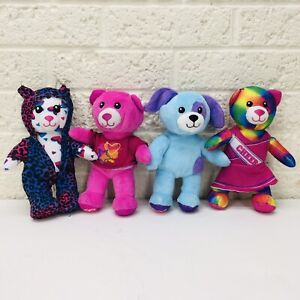 "Lot of 4‼ BABW Build A Bear Mini 7"" Plush Toy Figures • VGUC‼ • FREE S/H‼"