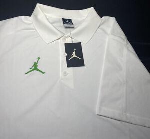 Nike Jordan Team Jumpman Golf Polo /AO9225 -100 / Extra-Large XL