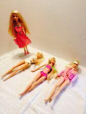Vtg 1990's Barbie Lot 4 Super Gymnast, Go go, Swimsuit, Steam Punk Dress No Boxs