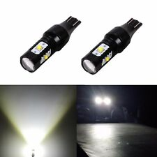 2X 30W 6000K Super White 921 T10 Back up Reverse LED Light Bulbs Projector Lens