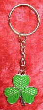 Irish Shamrock Keyring Ireland Eire Gaelic Key Ring St Patricks Day Gift New