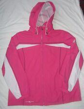 ZERO XPOSUR Pink Jacket Coat Hood Spring Water Resistant Womens Sz Size XL