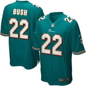 NFL Nike Miami Dolphins Reggie Bush #22 Home Limited Jersey Mens Size 2XL
