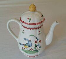 Germany Villeroy & Boch Porcelaine Jardin D' Alsace Fleur Coffee Pot tea pot.
