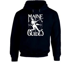 Maine Guides hooded sweatshirt hoodie shirt Baseball Phillies Old Orchard Beach