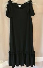 BRAND NEW WITH TAG RED VALENTINO DRESS crana801, Black Color, Size S