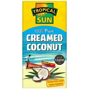 Creamed Coconut Tropical Sun 200g pack of 12
