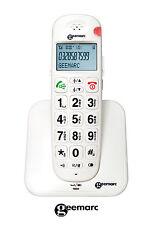 AmpliDECT 260 schnurlos Telefon Geemarc Senioren Hörgeräte grosse Tasten Ansage