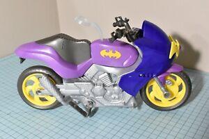 DC Comics Batgirl Motorcycle Super Hero Girls Batcycle Mattel 2016 Purple