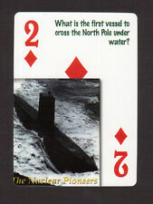 The USS Nautilus Submarine Neat Playing Card #8Y5