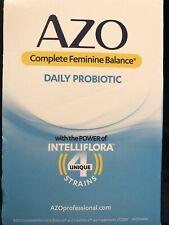 AZO Complete Feminine Balance Probiotic Capsules - 16 Pieces w/16 2.00 coupons