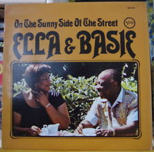 ELLA & BASIE ON THE SUNNY SIDE OF THE STREET FRENCH LP VERVE RE-ISSUE
