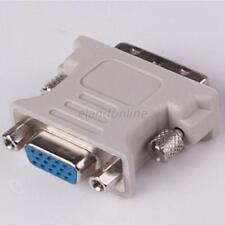 For PC Laptop Female Adapter Converter DVI-D (24+5) Dual Link Male to VGA HD15