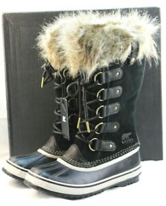 NWB SOREL Joan of Arctic Size 11 M Black Women's Winter Snow Boots RETAIL $170