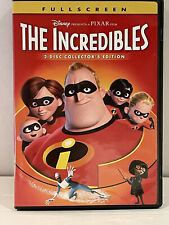 The Incredibles 2-Disc Collector's Edition, Disney Pixar, Like New-No Scratches