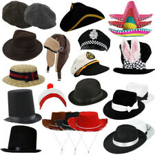 CHILDS HATS ACCESSORIES PHOTOBOOTH PROPS WORLD BOOK DAY KIDS FANCY DRESS LOT